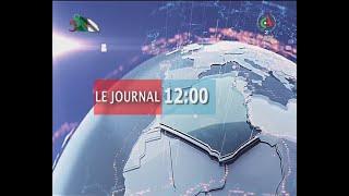 Journal d'information du 12H 09-08-2020 Canal Algérie