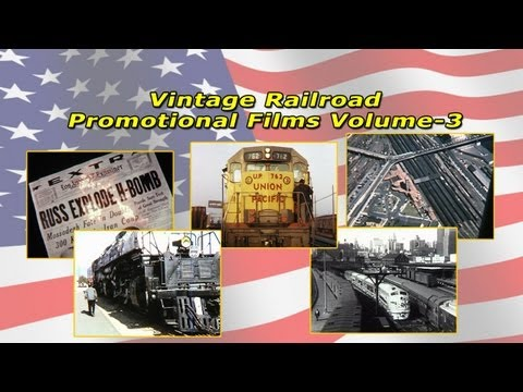 Vintage 1950s Railroad Promotional Films Volume-3