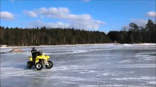 8. Suzuki 250 quadsport is
