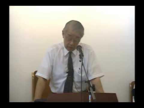 2015年8月8日「私は福音を恥としない」林亮牧師