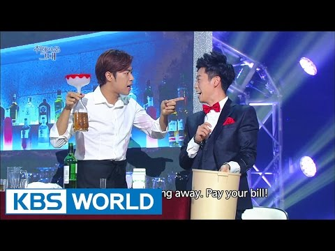 gag - Drunken | 취해서 온 그대 ------------------------------------------------ - Telecasting Time: Saturdays 04:30pm | Sundays 01:50am (Seoul, UTC+9) - For more info: http://kbsworld.kbs.co.kr/pro...