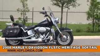 8. Used 2008 Harley Davidson Heritage Softail Classic for sale *