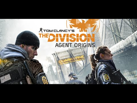 Tom Clancy's The Division Agent Origins {Full Length}