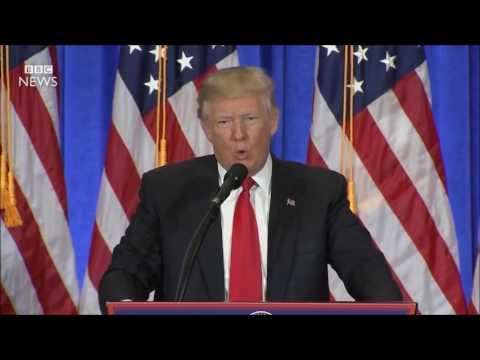 DONALD TRUMP: You are Fake News (Jan 2017), Copyrigth: BBC NEWS