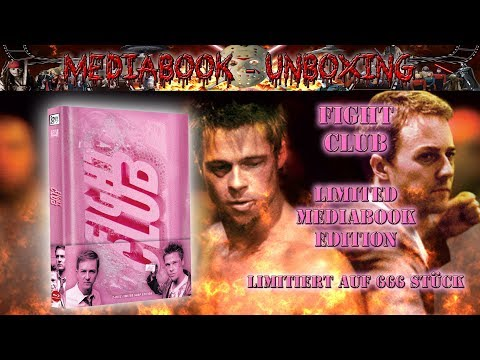 Unboxing - Fight Club - Mediabook - 84 Entertainment