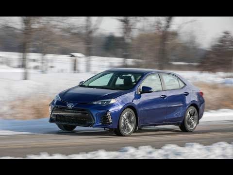 Road Test AutoMatic 2017 Toyota Corolla XSE Crash Rating Commercial