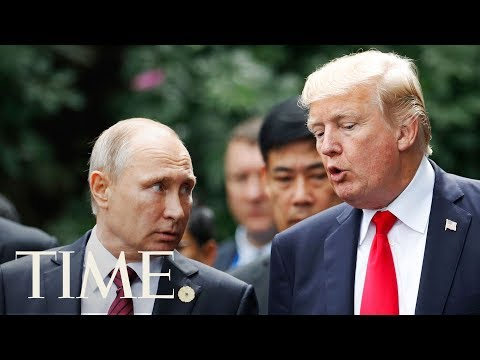 President Trump Holds A Joint Press Conference With Vladimir Putin | TIME
