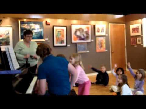 Group Piano Lesson (5-6 Years, Second Group)