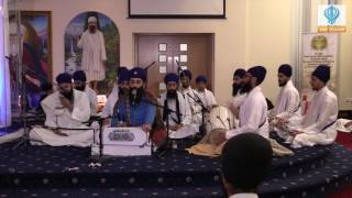 Hayes United Kingdom  City pictures : Nirvair Khalsa Jatha (U.K.) Guru Nanak School Hayes Divaan - 15 April 2016
