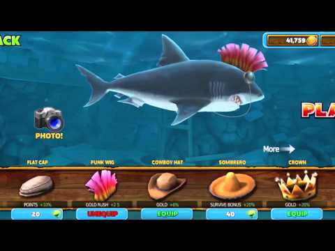 Video of Hungry Shark Evolution