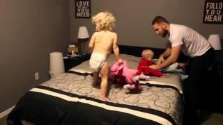 Dad vs Triplets + Toddler