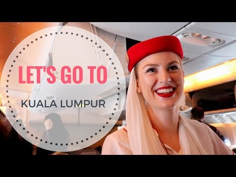 Travelling with an Emirates Flight Attendant | Crew Vlog in Kuala Lumpur