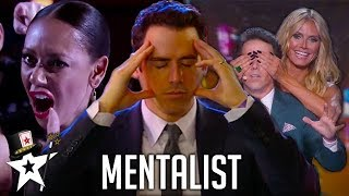Video REAL Mind-Reader! Oz Pearlman The Mentalist on America's Got Talent | Magicians Got Talent MP3, 3GP, MP4, WEBM, AVI, FLV Maret 2019