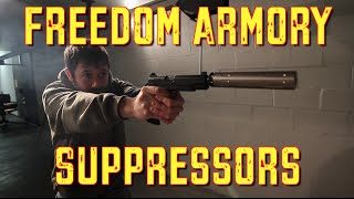 <h5>Suppressors</h5><p>Freedom Armory</p>