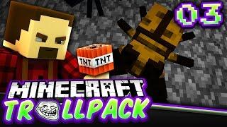 MY FIRST EVIL PRANK!!! | Minecraft TROLL PACK SMP #3