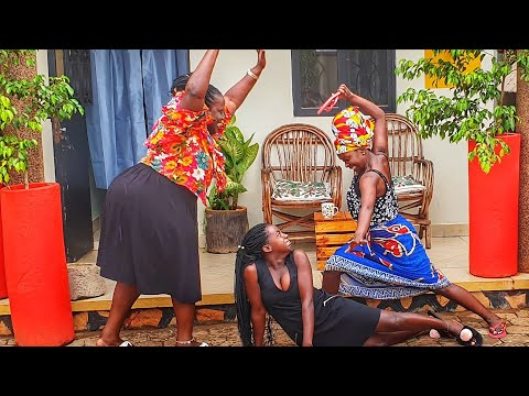 Pregnant by association. Kansiime Anne. African comedy.