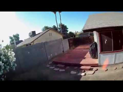 iFlight Cinbee 75HD Whoop - FPV Early Morning Around Outdoors My House