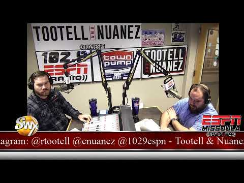 Tootell & Nuanez 102.9 ESPN Missoula Live Stream