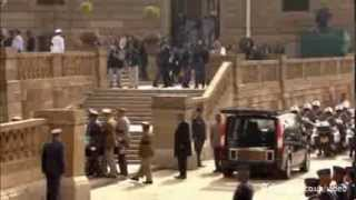 Nelson Mandela's Coffin Arrives In Pretoria To Lie In State