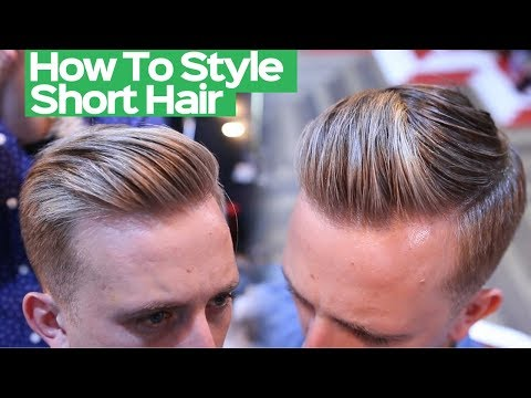 Mens hairstyles - Mens Summer Hairstyle 2018 - Mens Short Hairstyle Tutorial 2018