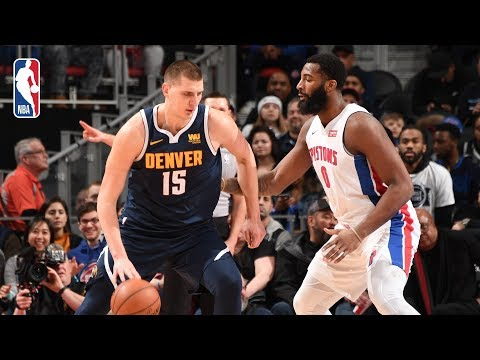 Video: Full Game Recap: Nuggets vs Pistons | Drummond Drops Season-High 27