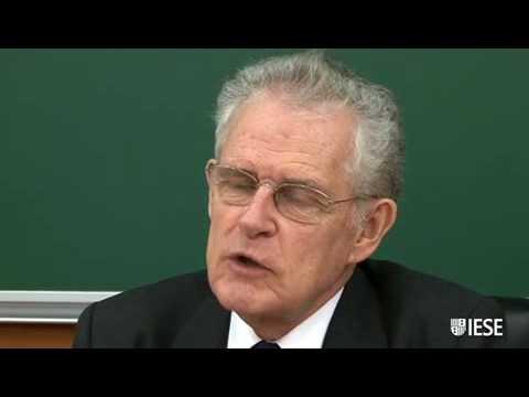 IESE Prof. Antonio Argandoña, der dritte einflussreichste Experte auf der Welt