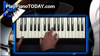 Video Piano Lessons - How to Match up Chords with any Melody (Overview 1 of 2) MP3, 3GP, MP4, WEBM, AVI, FLV Juni 2018
