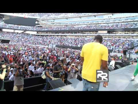 """Gucci Mane Performs """" Wasted """" at HOT 97's Summer Jam 2010"""
