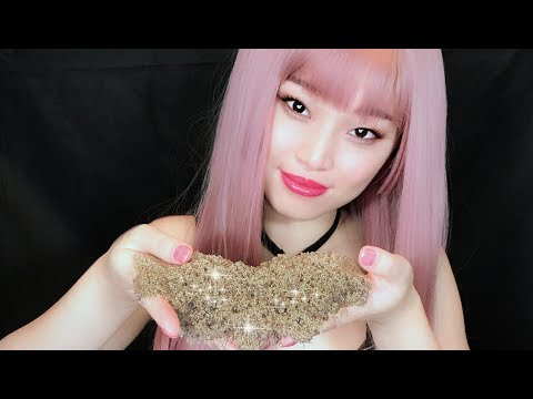 [ASMR] Oh So Satisfying~ Playing with Kinetic Sand