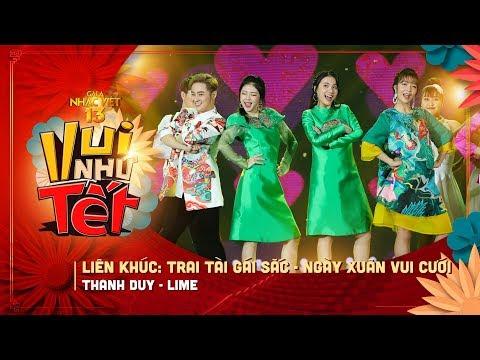 LK Trai Tài Gái Sắc, Ngày Xuân Vui Cưới - Thanh Duy, Lime   Gala Nhạc Việt 13 (Official) - Thời lượng: 5 phút, 28 giây.