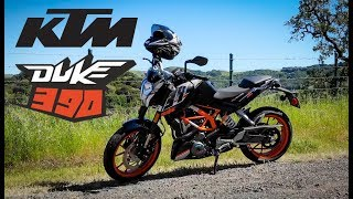 10. 2015 KTM Duke 390 Review