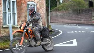5. KTM 525 EXC as an adventure bike?