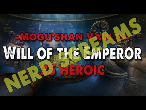 Method vs Will of the Emperor (25 Heroic) World 1st Nerd Screams Video