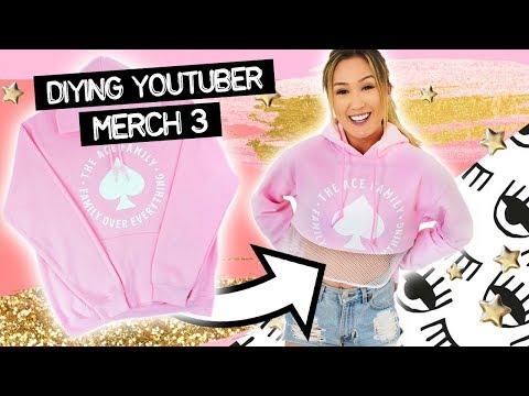Buying YouTuber Merch & DIYing It #3