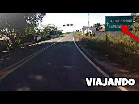 VIAGEM PARA JATOBÁ DO PIAUÍ DE FAN 125 !