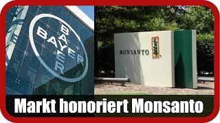 BAYER AG NA O.N. Marktanalyst Salcher: Markt honoriert Monsanto-Übernahme durch Bayer