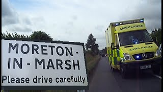 Moreton in Marsh United Kingdom  city pictures gallery : Moreton in Marsh, Gloucestershire Cotswolds, and ambulance