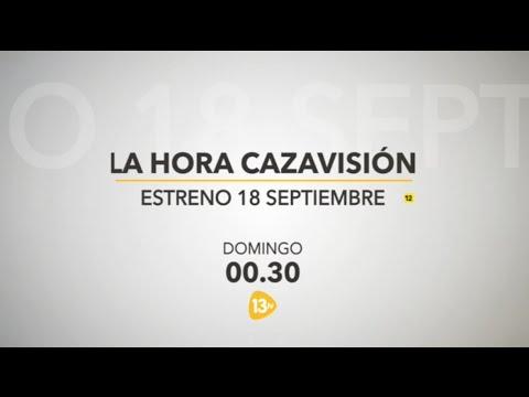 La Hora Cazavisión llega a 13TV