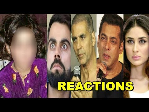 Bollywood Celebs SAD & ANGRY Reaction On Kashmiri Little Girl's SHOCKING Incident In Khatua