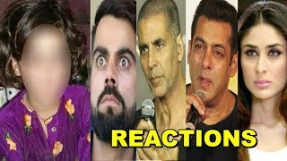 Video Bollywood Celebs SAD & ANGRY Reaction On Kashmiri Little Girl's SHOCKING Incident In Khatua MP3, 3GP, MP4, WEBM, AVI, FLV September 2018