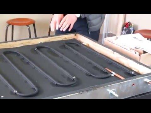 практическое руководство по изготовлению солнечного коллектора