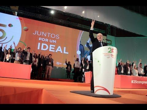 Rui Rio no Encerramento do 25.º Congresso da JSD