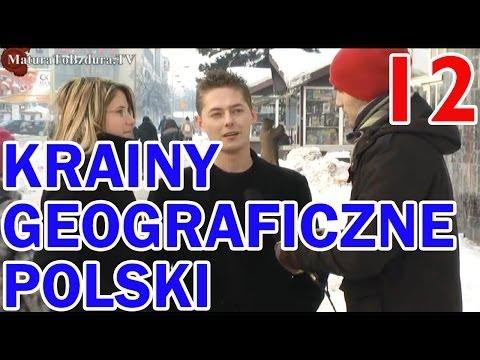 Matura To Bzdura - KRAINY GEOGRAFICZNE POLSKI odc. 12