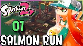 "Splatoon 2 Salmon Run Marooner's Bay Online Multiplayer Coop Gameplay Part 1 for the Nintendo Switch. Enjoy. :]►New to the Channel? Subscribe! :D http://bit.ly/1PCzTc0 ►Make sure to smash that LIKE button and let us know what content you would like to see! :]►Splatoon 2 Story Mode Playlist:https://www.youtube.com/playlist?list...________________________________________­_________►Hey there awesome viewer. We'd like to thank you so much for taking the time to check out our video/content. Don't forget to SMASH that like button if you enjoyed it and if not, feel free to drop us a comment down below and let us know what we can do. We are constantly improving and feedback would mean a whole lot. :] Thank you very much! ^-^►Don't forget to Subscribe and become part of the DarkLightAcadamia. We always welcome new brothers and sisters to the group and you'd be letting us know that we're creating something special. :D►Splatoon 2 is the sequel to the Wii U Hit, Splatoon being released for the Nintendo Switch. The third person shooter aspect remains but with new weapons to spice things up. New hits like the Splat Dualies and even changes to the classic Splattershot, Splat Roller and Splat Charger make this feel as fresh as the original. An original new IP by Nintendo that has taken the world by storm. Feel the HYPE and follow us on:►Twitter: https://twitter.com/DarkLight_Bros ◄►Facebook: https://www.facebook.com/DarkLightBros/ ◄►Deviantart: http://darklightbros.deviantart.com/ ◄Splatoon 2 owned By NintendoThis video is owned by the DARKLIGHTBROS, unless images/music specified in above description.Footage recorded for fair use and intended for educational purposes to showcase the game and its premise and to get newcomers into this game. :]Disclaimer:Under Section 107 of the Copyright Act 1976, allowance is made for ""fair use"" for purposes such as criticism, comment, news reporting, teaching, showcasing, scholarship, and research. Fair use is permitted.""Fair Use"" guidelines: www.copyright.gov/fls/fl102.htmlPlease Contact us through email first if there are any issues. :] ~DarkLightBros~#Splatoon2 #Callie #Marie #salmonrun"