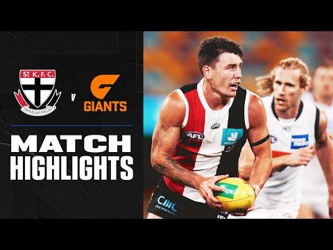 St Kilda v GWS Giants Highlights | Round 18, 2020 | AFL