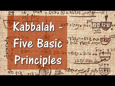 Kabbalah - Five Basic Principles