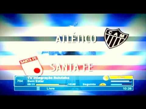 Ituiutaba Minas Chamada Tv Globo Exibe Atlético MG x Independente Santa Fé Pela Libertadores 2014