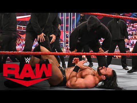 RETRIBUTION crash Drew McIntyre vs. Keith Lee: Raw, Sept. 14, 2020