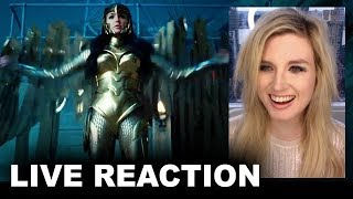 Wonder Woman 1984 Trailer REACTION by Beyond The Trailer