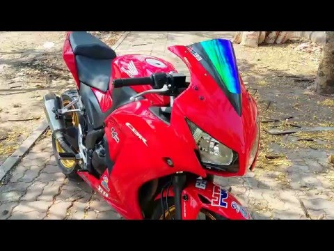 Download Video CBR300R  Akrapovic Shorty Slip-On Exhaust Sound Thailand Nonthaburi [1080p]